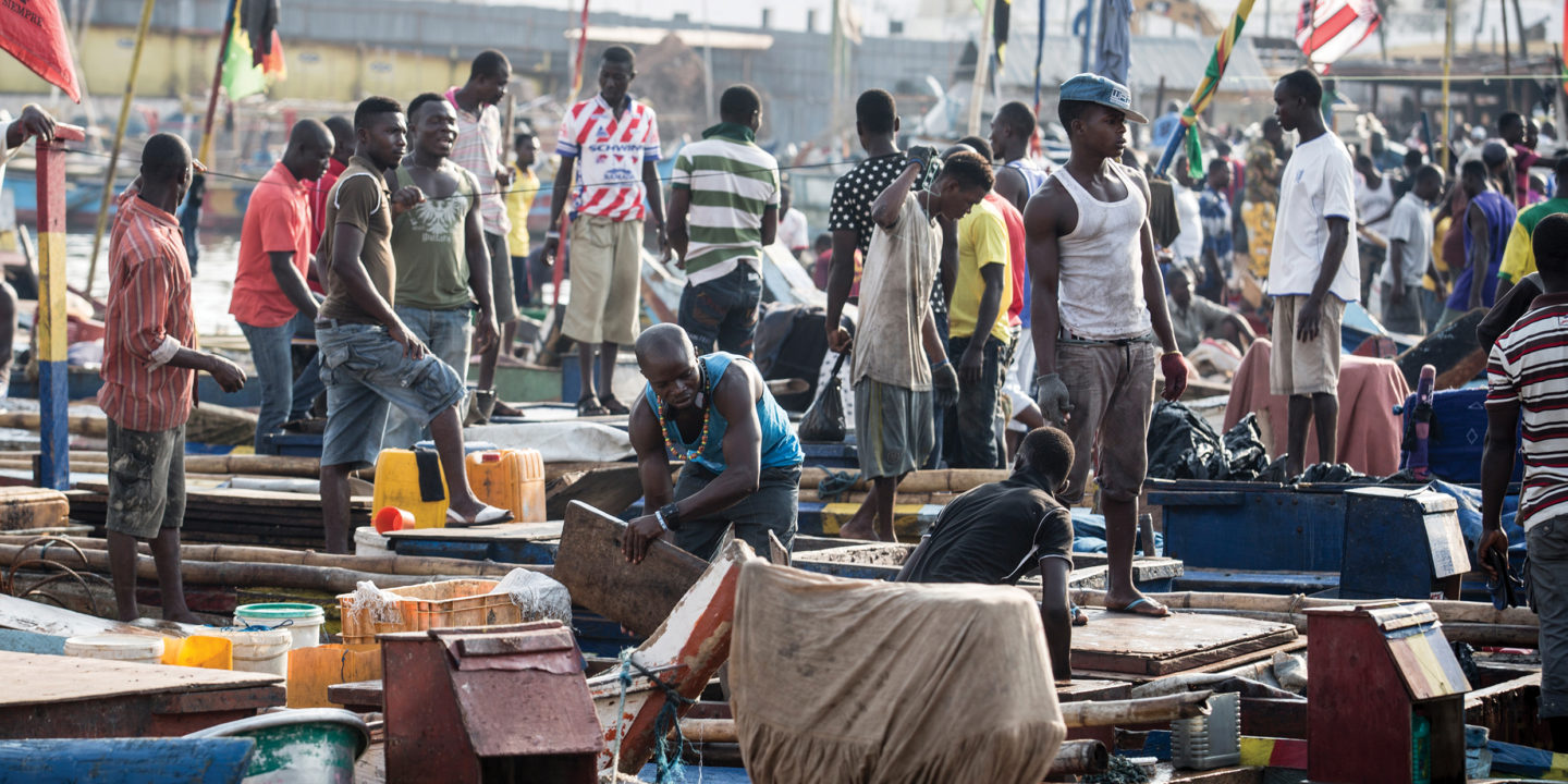 Chinese trawling is depleting Ghana's fish stocks