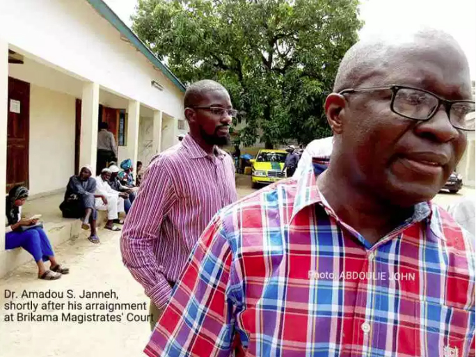 Gambia: Dr. Janneh Dragged To Court Over The Removal Of Golden Lead Discharging Pipes