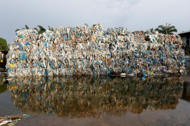 Plastic waste in Malaysia (Photo: Reuters)