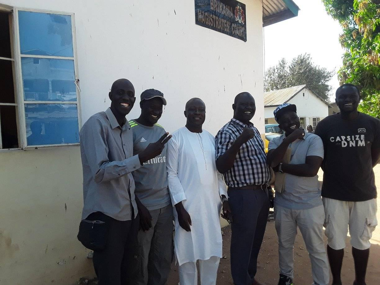 Gunjur six discharged, amazing news for environmentalists in the Gambia