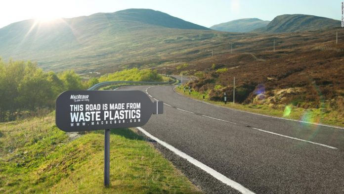 Recycled Plastic Can Improve Our Roads And Clean Up Our Environment!