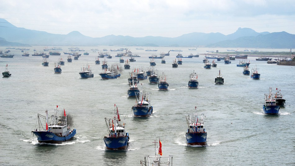 How Chinese Trawlers Can Not Be Removed From Surinamese waters despite violations