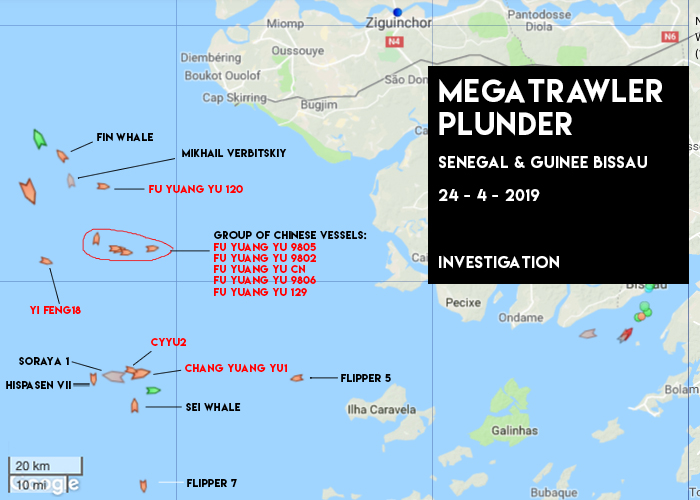 An Army of Mega Trawlers is Plundering West African Waters RIGHT NOW