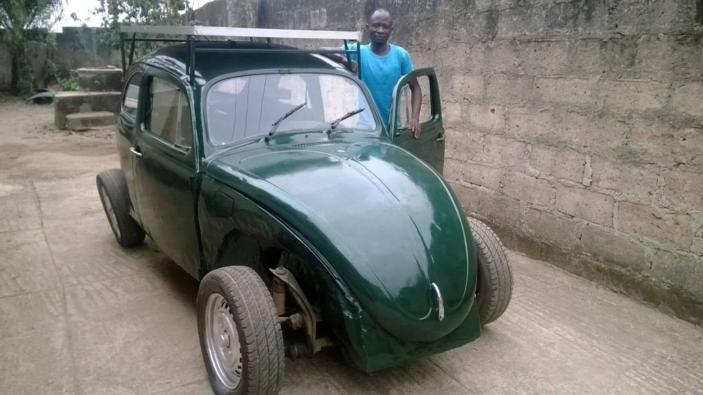 Nigerian College Student Builds a $6000 Wind and Solar Powered Car